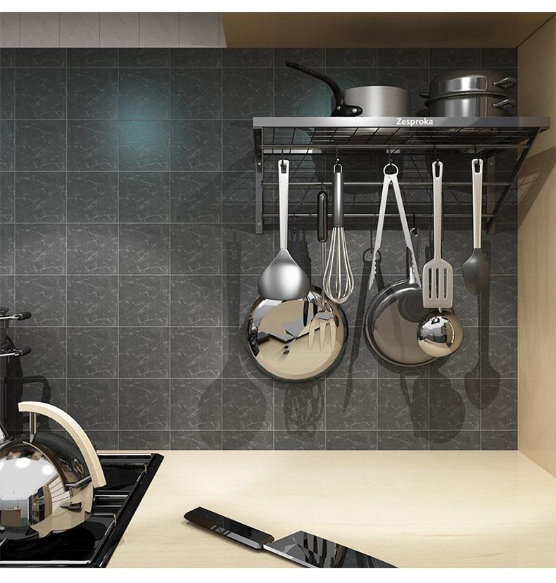 Настенный подвесной стеллаж для кастрюль, стеллаж для хранения, полка для чашек, стеллаж для сковородок, настенные подвесные кухонные полки