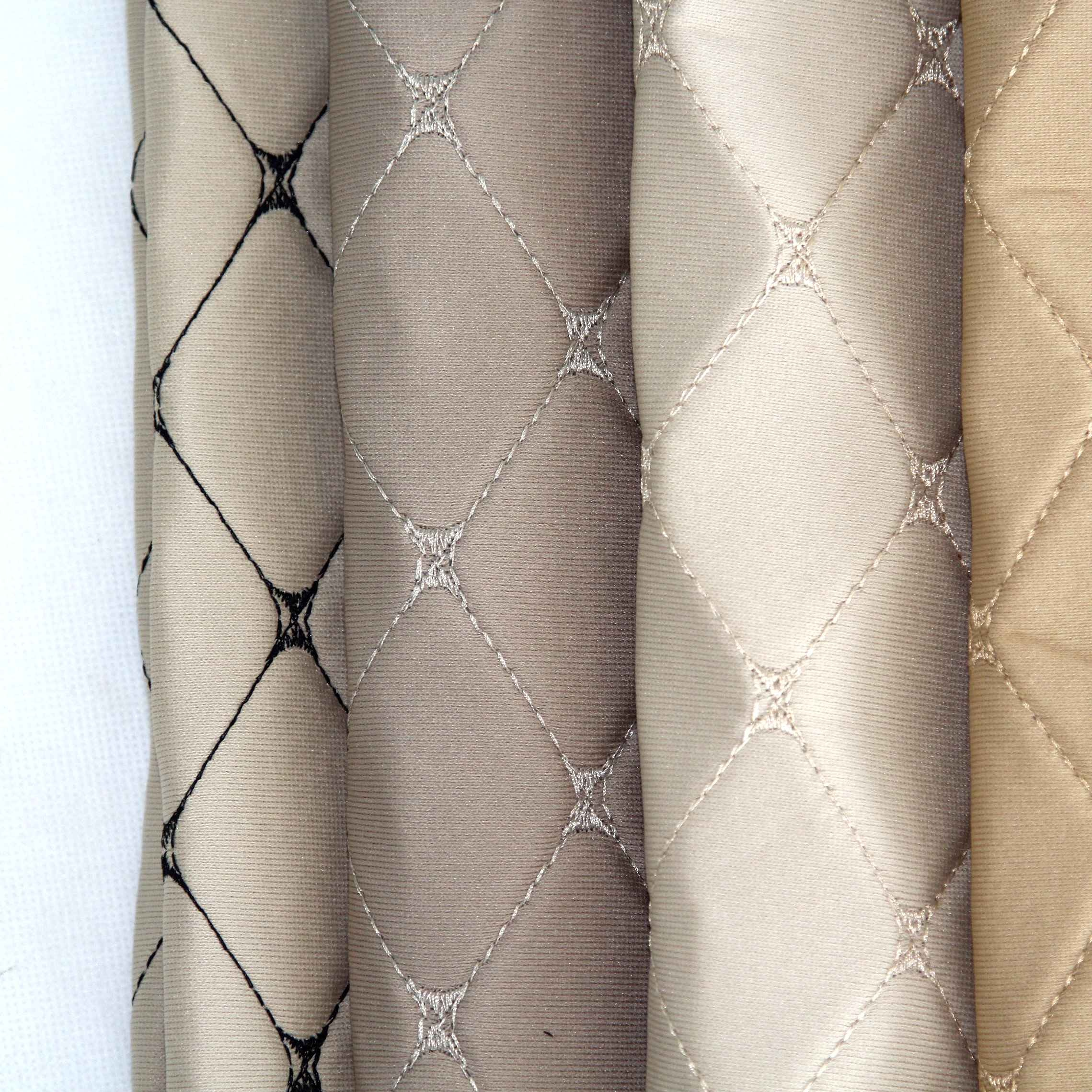 The Embroidery Jacquard Car Seat Fabric With Foam