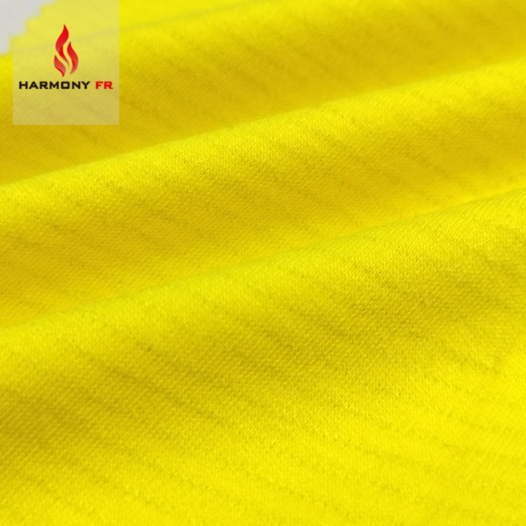 Knitted Interlock EN1149-3 Anti Static FR Protective Fabric