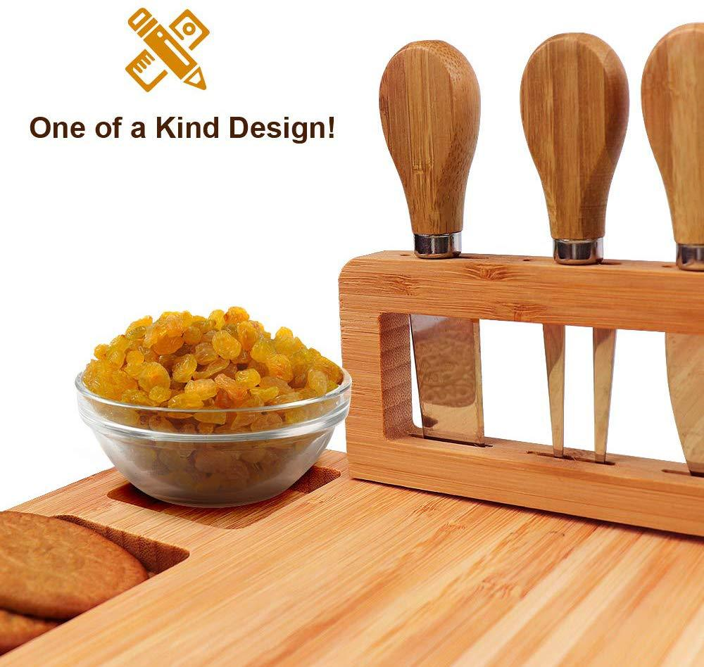 Manufacturer wholesale cheese boards Eco-friendly bamboo cheese board high quality