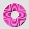 2.8 m pink PVC rope