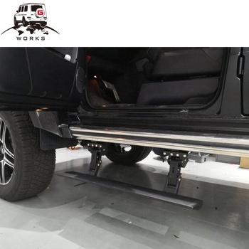 G Class W463 G500 B800 4x4 Electric Auto Running Board Side Step auto spare parts car auto electric running board