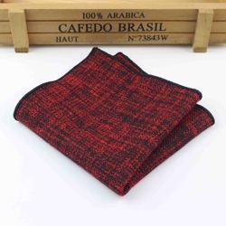 Высококачественный шерстяной хлопковый Карманный квадратный тонкий носовой платок Узкий однотонный тонкий аксессуар для одежды