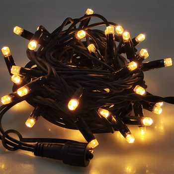 Christmas outdoor waterproof project ramadan led connectable rubber fairy string lights dc