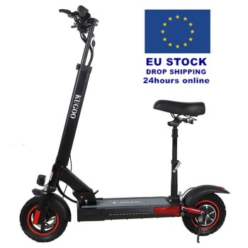 "EU Stock Free Dropshiping 48V 16AH KUGOO KIRIN M4 PRO 10"" Off-road Tires 500W Motor Folding Electric Scooter with seat"