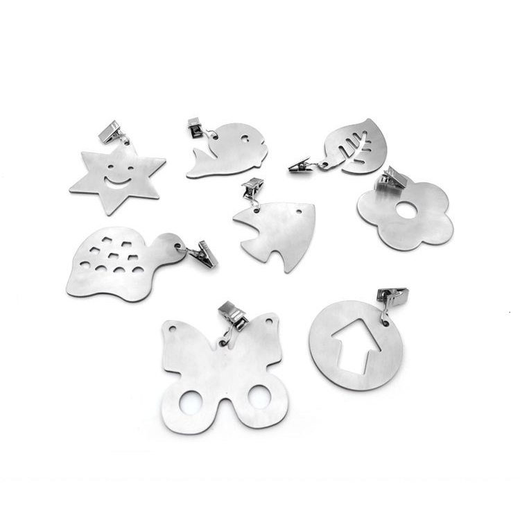 Assorted Designs Modern-Style Stainless Steel Tablecloth Weights