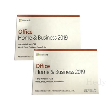 Wholesale Digital retail key online activated PC MAC 2019 hb Office 2019 Home and Business