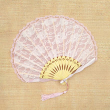 Yafantang ручной кружевной японский вентилятор в виде ракушки на заказ винтажный бутик женский Японский складной веер в сложенном виде(Китай)
