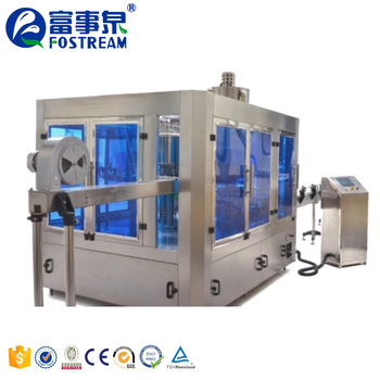 Factory Price Automatic Filling Small Bottle Drinking Mineral Water Bottling Plant