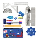 High Quality Stationery Kits for boys back to school stationery set great bundle school supplies essentials cheap stationary