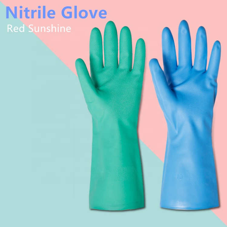 Cheap Blue Guantes Nitrile Gloves Manufacturers
