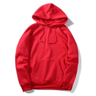 Men's Hoodies Hoodies Men Cotton Wholesale Plain Streetwear 100% Cotton In Bulk Blank Cut And Sew Men's Sweatshirt Hoodies