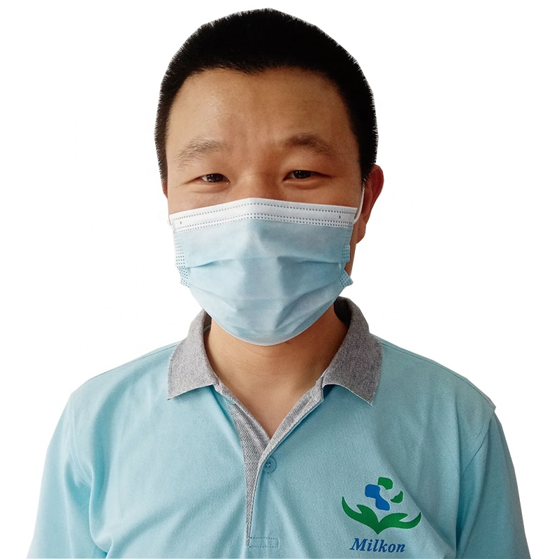 Masker 3ply Non Woven Earloop Sergical Medical Face Mask Surgical Musk 3 ply Disposable Facemask EN 146832019 Surgical Masks 2r