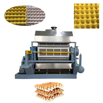 pulp waste making egg tray machine / egg tray production line / egg tray making machinery