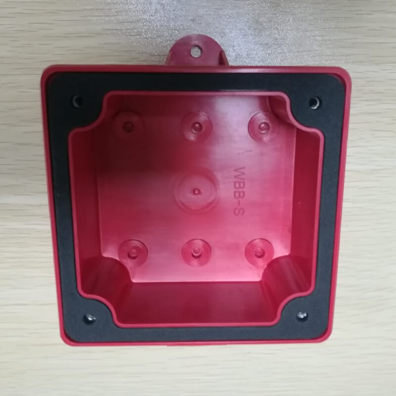 Factory price 24V or 12V electric waterproof Outdoor fire alarm siren bell can with back box