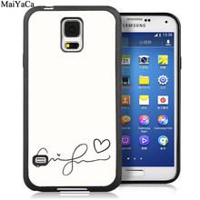 Чехол для телефона MaiYaCa Ariana Grande pop singer для samsung Galaxy S5 S6 S7 edge S8 S9 S10 Plus Lite Note 9 5 8(Китай)