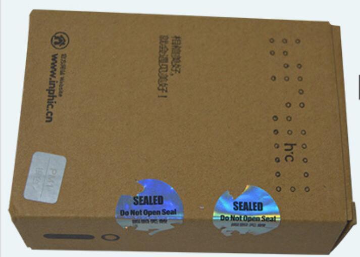 Stock Sale Holographic-Fragile Delta 8 Stickers Lables Easy Damaged Hologram Universe Free Design Security Labels