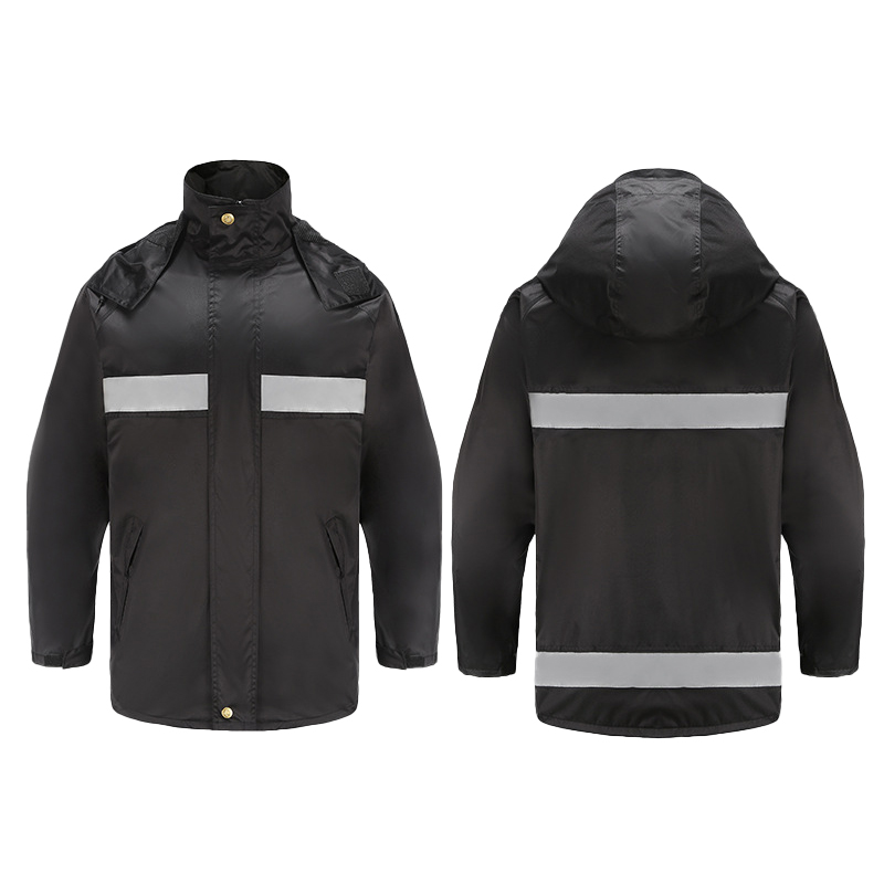 Красивый дизайн на заказ для взрослых Водонепроницаемый тканевый разрез светоотражающий Дождевик куртка брюки Толстовка комплект по низкой цене флуоресцентный комплект