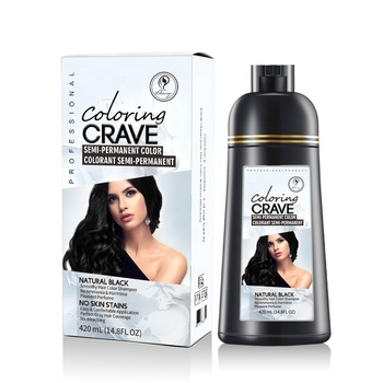 plant fast black hair dye color shampoo best professional brown hair coloring shampoo for gray hair in liquid