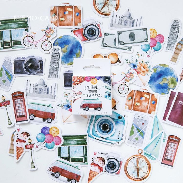 2020 Новинка Kawaii путешествие человека васи лента DIY планировщик Маскировочная лента стикеры Липкая лента Декоративные Канцелярские Ленты(Китай)