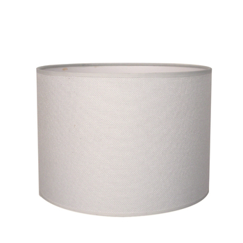 wholesale cheap hanging fabric 25cm in diameter E27 cylindrical white lamp shade
