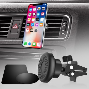 Super Strong Magnet Car Air Vent Phone Mount 360 Degree Rotatable Car Cradle magnetic car phone holder for Mobile Phone