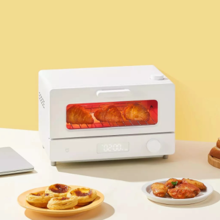 2021 New Product Xiaomi Mijia Smart Steam Small Oven 12L 1300W High Power MI HOME APP Intelligent Control baking oven