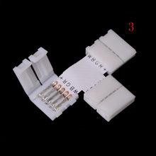 5-контактный светильник, Светодиодная лента, 5-контактный RGBW RGBWW, Светодиодная лента, разъем для 10 мм ширины 5050 RGB + W RGB + WW(Китай)