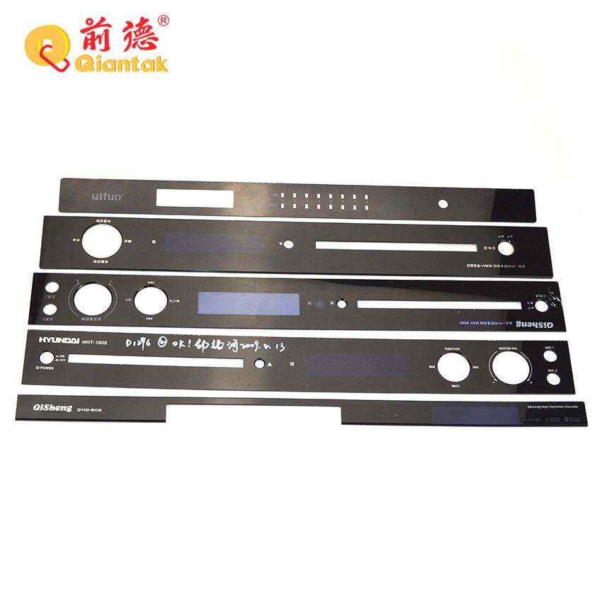 Бесплатный образец акриловых накладок на переднюю поверхность для электронного устройства