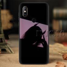 Эстетическое аниме девушка демон мягкий чехол для телефона случай для Redmi Примечание 4X5 S2 7 4A 5A 6A 6 Plus(Китай)