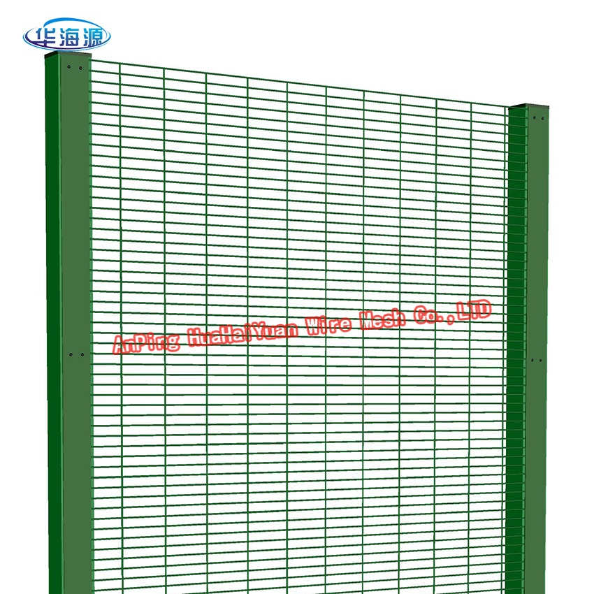 358 high security anti climb metal pvc coated wire fence