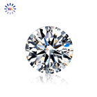 The Moissanites AAA Gems Synthetic Gemstones 6.5mm-15mm DEF GH IJ VVS 1ct Round Moissanite