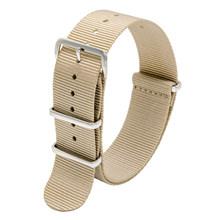ONEON 22 мм армейский спортивный ремень Nato тканевый нейлоновый ремешок для часов с пряжкой для всех известных брендов skeio Ролекс xiaomi huawei ремешо...(Китай)