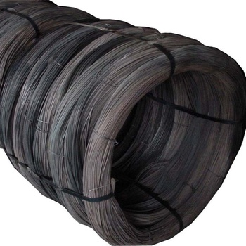 Carbon steel black annealed wire construction used