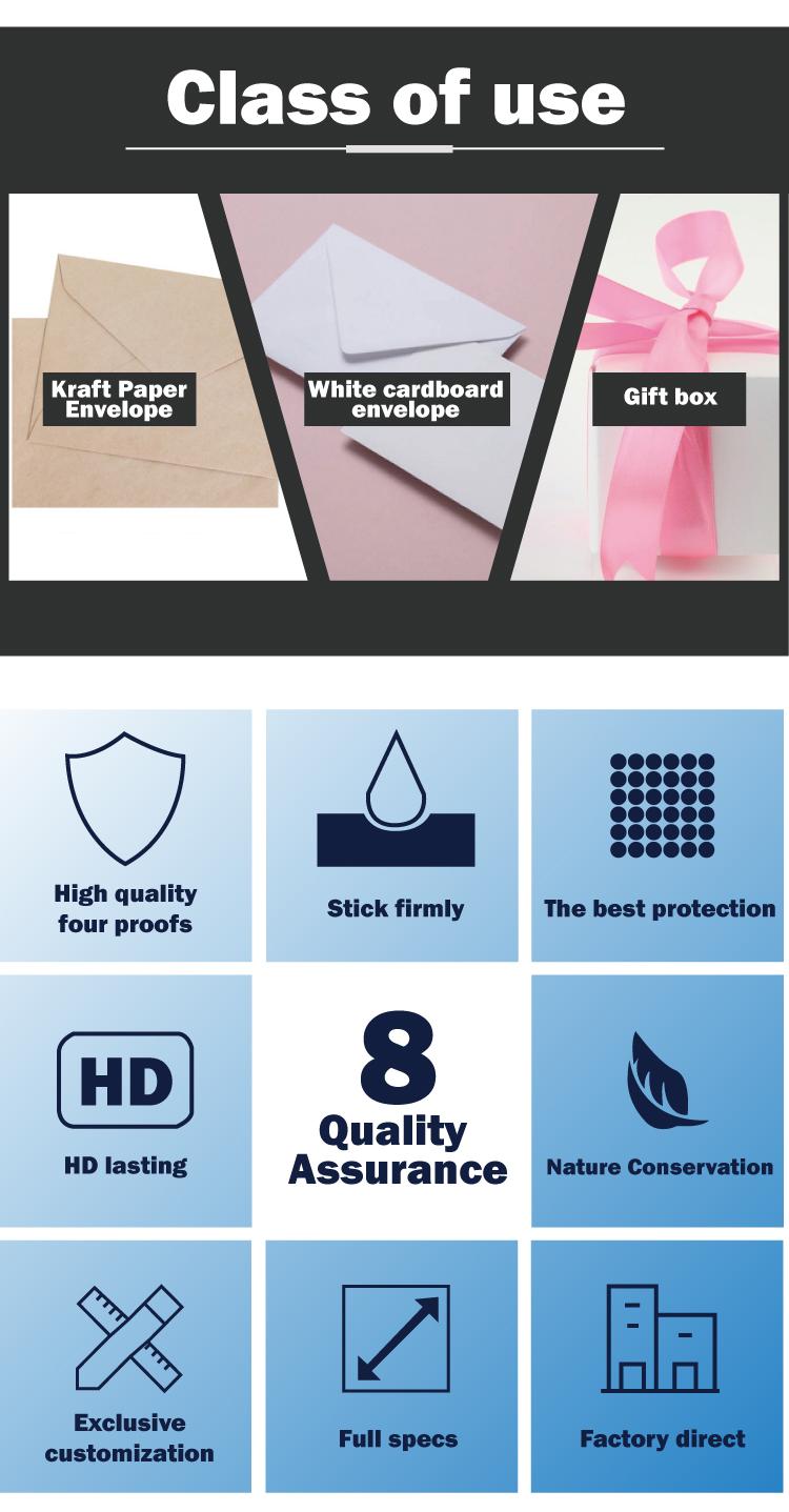 New Original Eggshell Sticker 1 Inch Epoxy Round Stickers With Factory Price