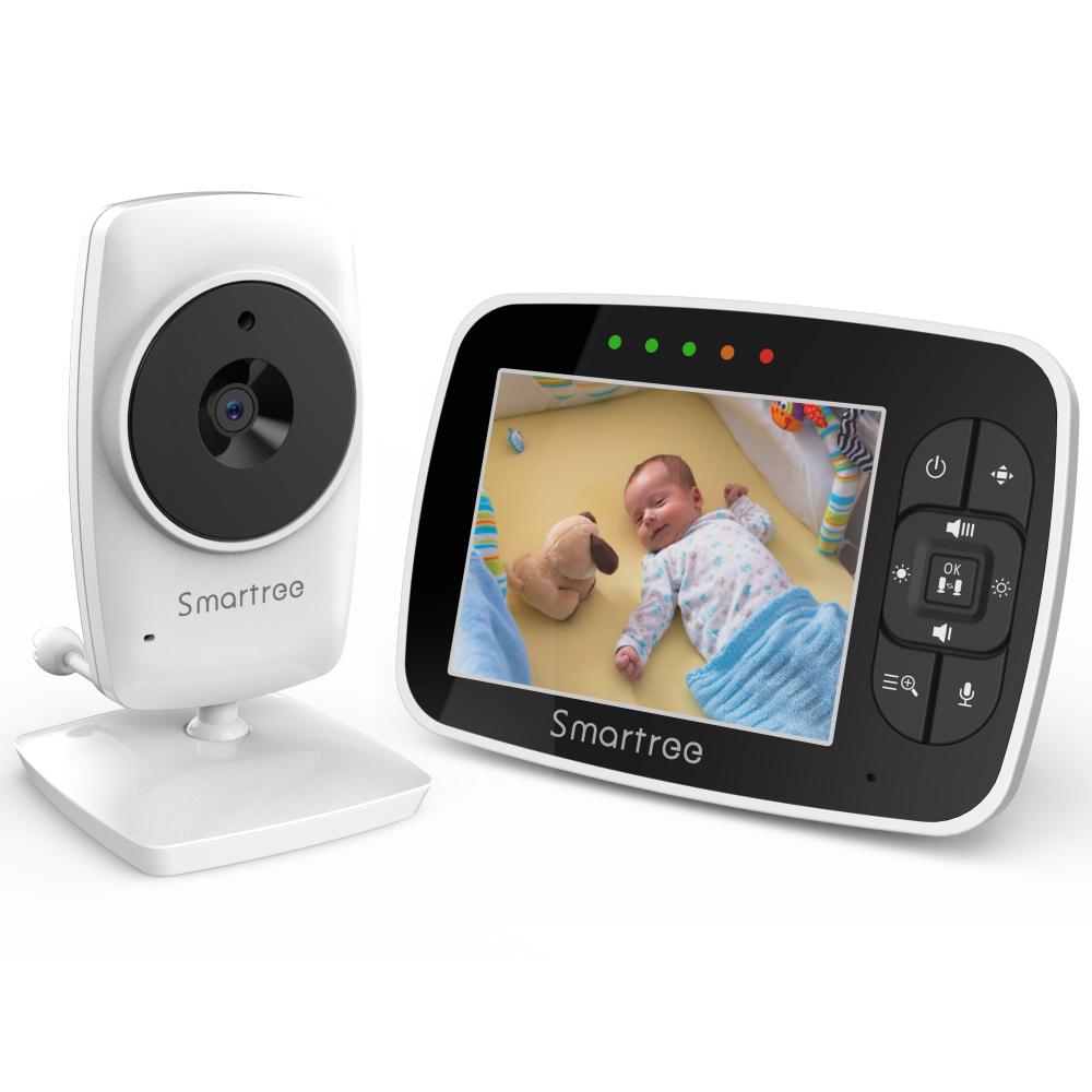 Новый модный детский аудио монитор дисплей Видео Портативный радионяня беспроводной