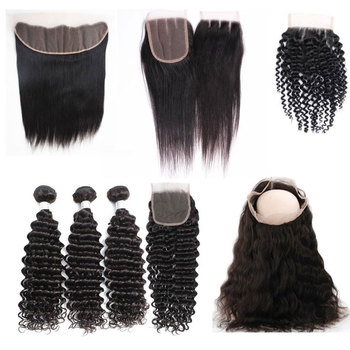 4X4 Bleacked Knots Hd Lace Closure Grade 10A Human Hair With Closure Set Ear To Ear Brazilian 18Inch Thin Skin Closures