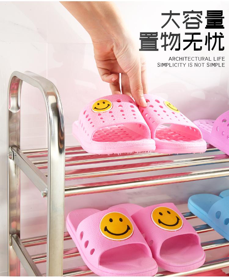 Простая полка для обуви с поручнями, легко собираемая полка для хранения обуви, экономия места, органайзер для обуви, близко к двери