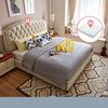 White (1.5*1.9m bed+mattress)-LS01ZHR270043