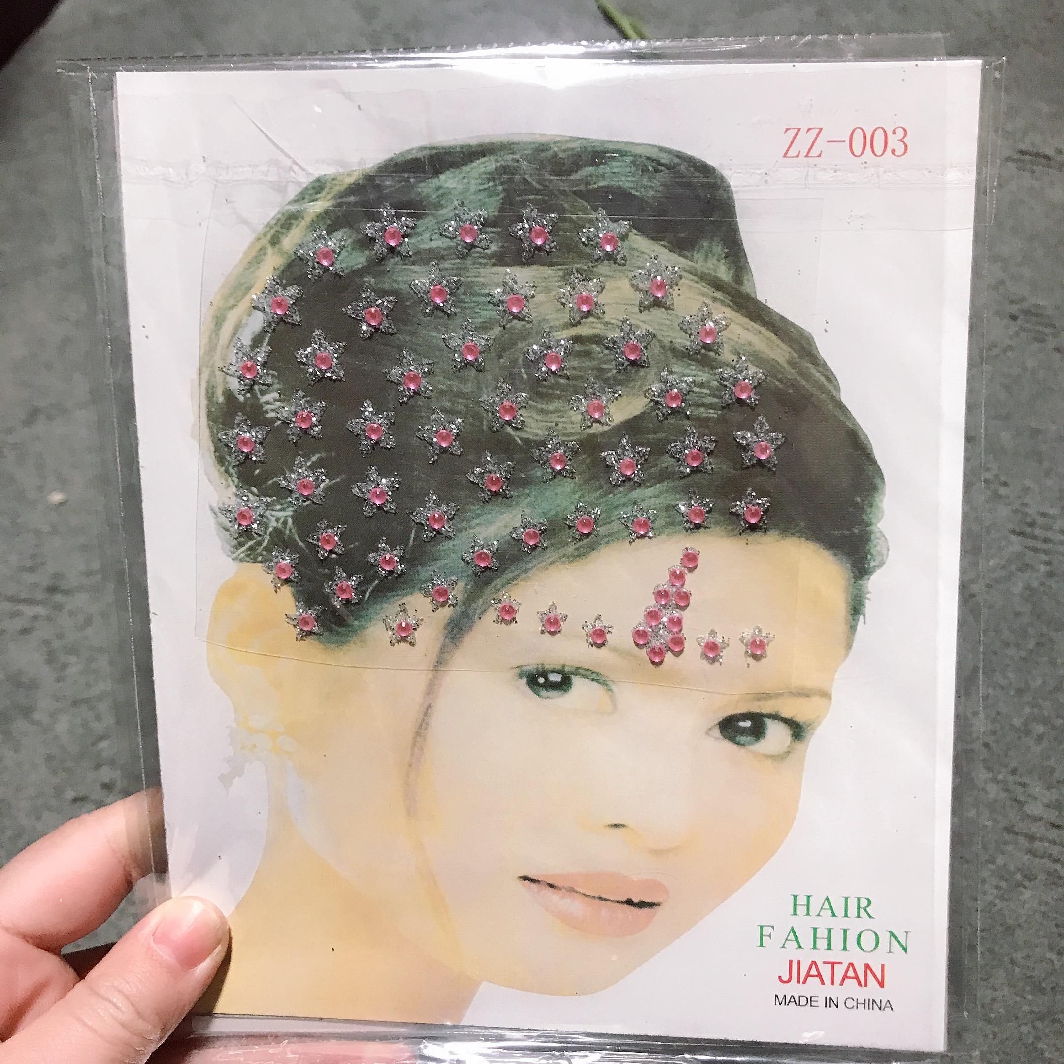 Декоративная наклейка для волос, наклейка для волос со стразами, рекламная наклейка для волос