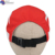 Factory wholesale popular metal logo Thin Red dry fit street dance Duck Tongue hat for teamwear