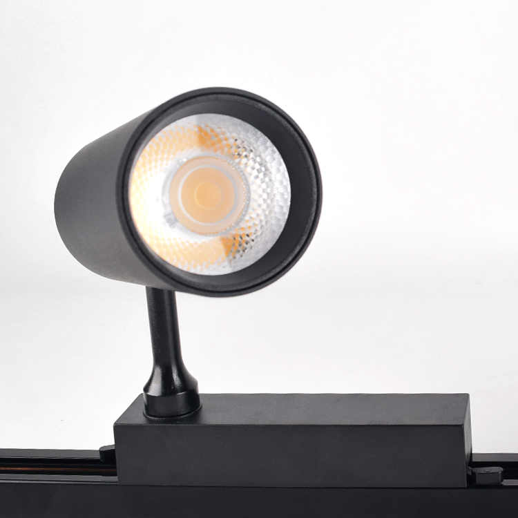 Donna 10W 20W 30w led track light Dimmable aluminum focus led track spotlight for museum lighting