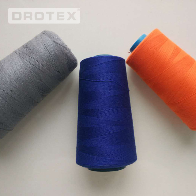 Wholesale 402 403 Polyester Fire Retardant Sewing Thread
