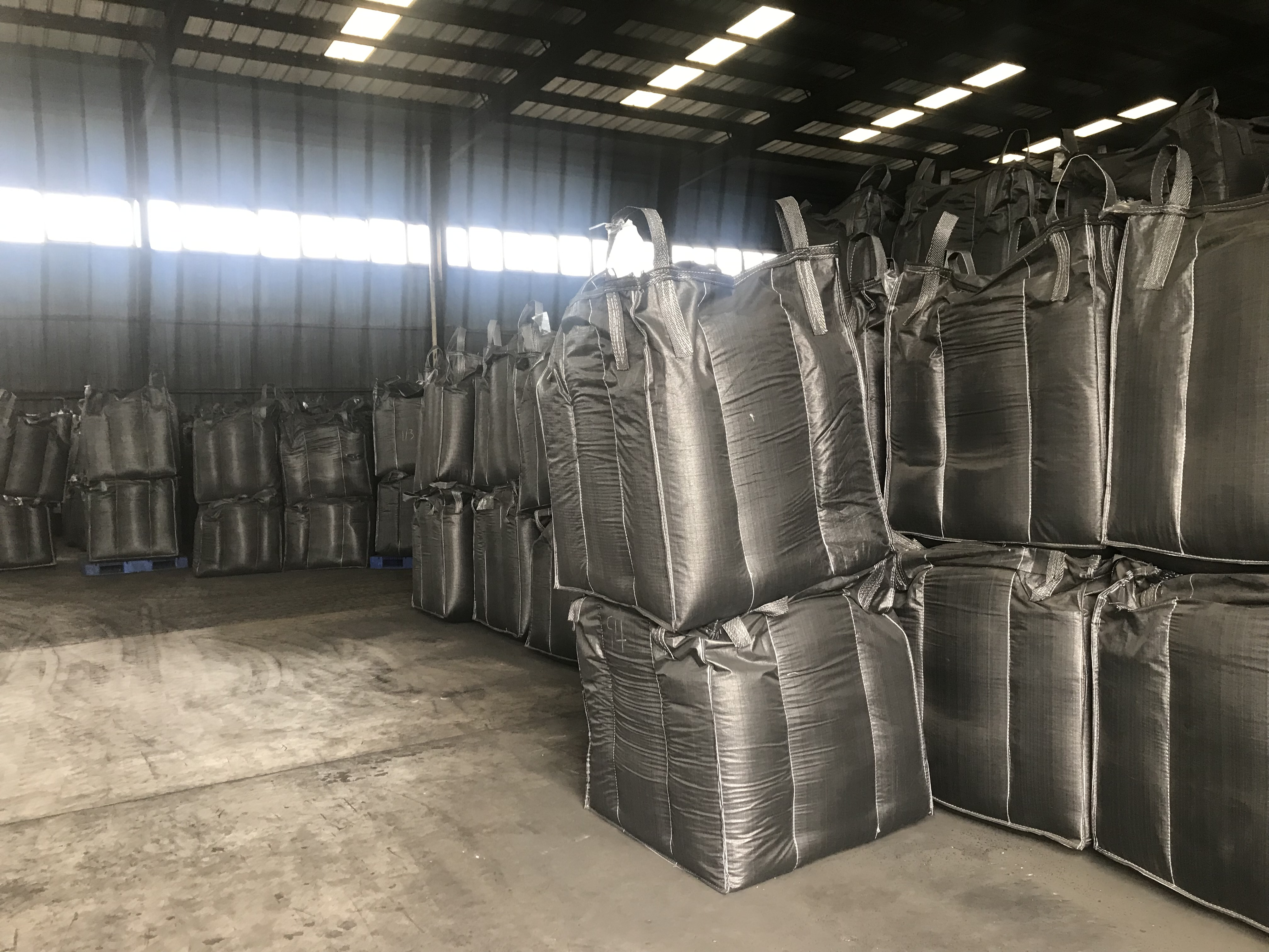 Coconut shell based granular activated carbon for gold recovery