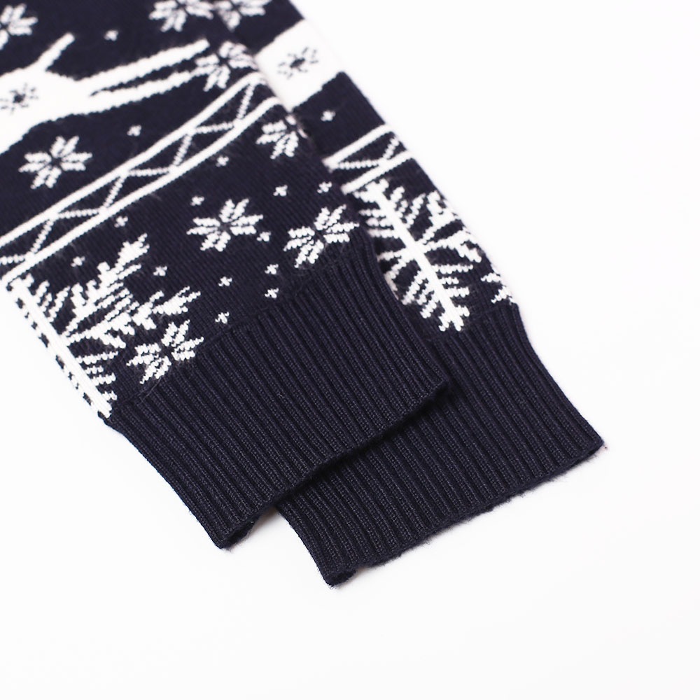 New Arrival High Quality Jacquard Pattern Custom Christmas Knitwear for Men
