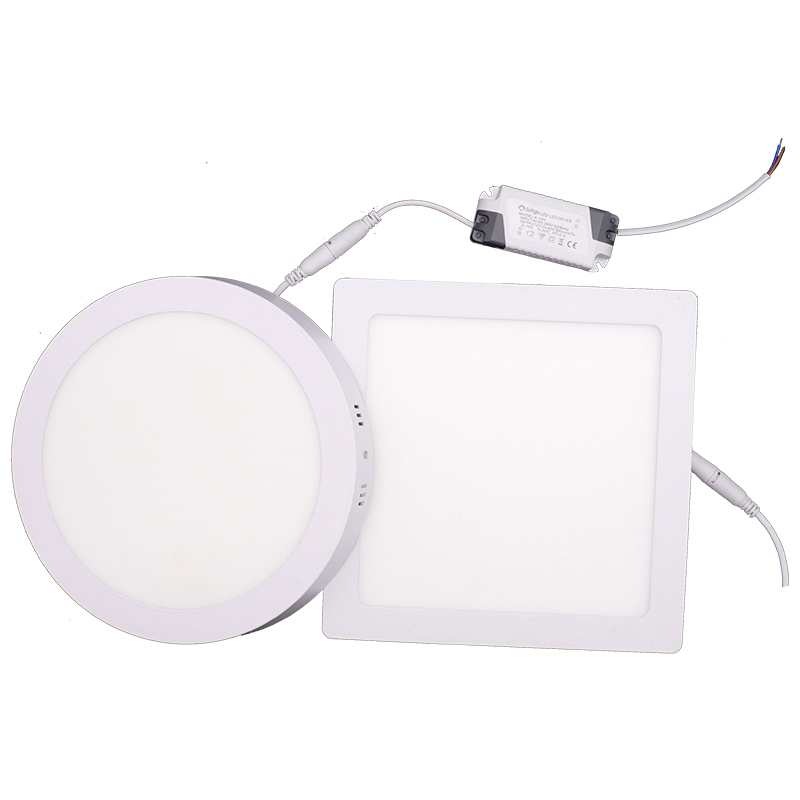 Indoor 6W 12W 18W 24W Round Silm and Surface SMD Small round Led Panel Light china supplier