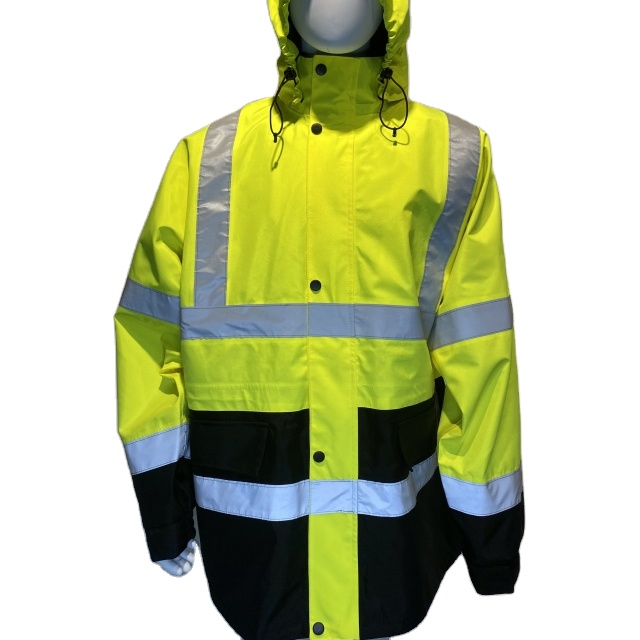 Wholesale Factory made Fully OEM customized oxford fabric safety jackets with reflective string - KingCare | KingCare.net