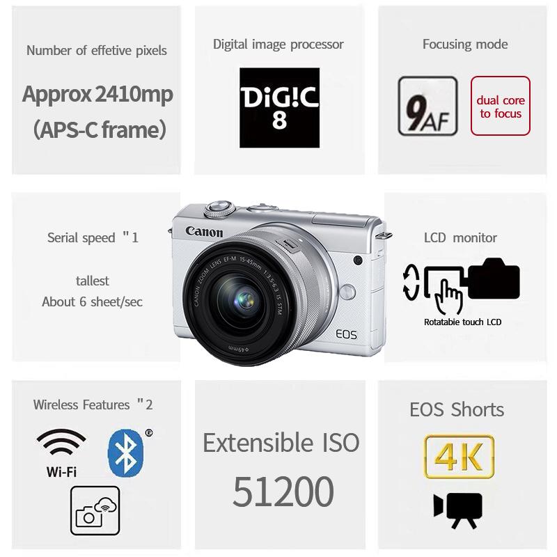 Прямая продажа с фабрики Wi-Fi камера легко переносить Стабилизатор камеры 4k