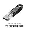 C18 Silver Black