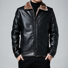 Leather Jacket Men Coat Waterproof Outdoor Fashion Warm Biker Pu Leather Jacket Military Spring And Autumn Coat Men